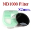Neutral Density ND 1000 (10 Stop ND) ND1000 Filter 82mm. thumbnail 1
