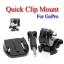 Quick Clip for GoPro Hero3+ 2 1 Accessories Camera ขายึดพร้อมหัวคลิปล็อคสำหรับกล้องโกโปร thumbnail 1