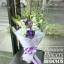 ช่อดอกไม้ โอกาสแสดงความยินดี โทนสีม่วงพาสเทล (XL) thumbnail 3