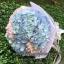 ช่อดอกไม้ไฮเดรนเยีย แสดงความยินดี (M) thumbnail 1