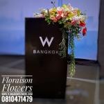 Set ตกแต่งโพเดียม งาน W Bangkok Residence