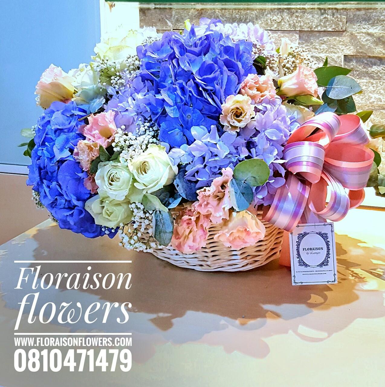 กระเช้าดอกไม้ (L)