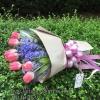 ช่อดอกไม้ ทิวลิป ไฮยาซิน (M)