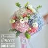ช่อดอกไม้สไตล์อังกฤษ สีสันสดใส (M)