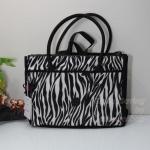 Kipling Halia TT Zebra Block กระเป๋าสะพายใบใหญ่ จุมาก ขนาด 37 L x 29 H x 14 W cm large