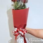 ช่อดอกกุหลาบแดง ฮอลแลนด์ (L)