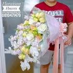 ช่อดอกไม้แสดงความยินดี (XL)