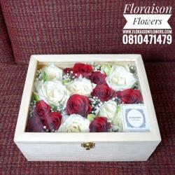 กล่องดอกไม้ คลาสสิค (L)