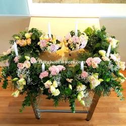 Altar Floral decoration | ดอกไม้ประทับแท่นบูชา