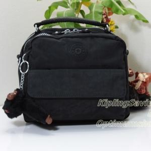 Kipling Candy Black กลับมาผลิตใหม่อีกครั้ง ขนาด 19 L x 22 H x 11.5 W cm medium