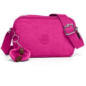 Kipling Dee Very Berry กระเป๋าสะพายน่ารัก รุ่นนี้มี 2 ช่องซิป ขนาด L7.5 x H 5 X 2.75 นิ้ว
