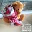 ตุ๊กตาหมี กอดช่อดอกกุหลาบแดง (L) thumbnail 3