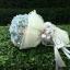 ช่อดอกไม้ ไฮเดรนเยีย ฟ้า-ชมพู พาสเทล (M) thumbnail 1