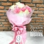 ช่อดอกไม้ ขาว ชมพูสด (M) thumbnail 3