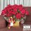 กล่องดอกไม้ กุหลาบแดง (XL) thumbnail 2