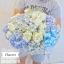 กล่องดอกไม้ สีฟ้า ขาว (L) thumbnail 2