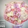 ช่อดอกไม้ขอแต่งงาน ชมพูพาสเทล (L)