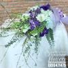 ช่อดอกไม้ โอกาสแสดงความยินดี โทนสีม่วงพาสเทล (XL)