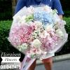 ช่อดอกไม้ หวานๆ กุหลาบ ไฮเดรนเยีย (M)