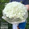 ช่อดอกไม้วันเกิด กุหลาบขาว 99 ดอก Premium Size