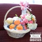กระเช้าผลไม้ Floraison (L)