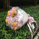 ช่อดอกไม้แสดงความยินดี (M)