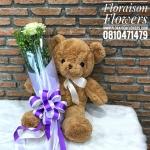 ตุ๊กตาหมี ซิงเกิ้ลโรส สำหรับโอกาสพิเศษ