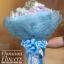 ช่อดอกไม้วันเกิด ม่วงขาวพาสเทล (XL) thumbnail 3