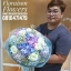 ช่อดอกไม้วันเกิด ม่วงขาวพาสเทล (XL) thumbnail 2