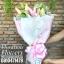 ช่อดอกไม้ลิลลี่สีชมพูหวานล้วน (M) thumbnail 2