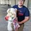 ตุ๊กตาหมี ช่อดอกไม้ สำหรับวันเกิด โทนสีสดใส thumbnail 4