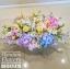 กระเช้าดอกไม้ แสดงความยินดี โทนสีสดใส (XL) thumbnail 2